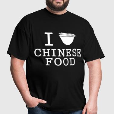 i_love_chinese_food - Men's T-Shirt
