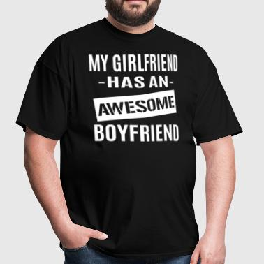 Awesome Boyfriend - Men's T-Shirt