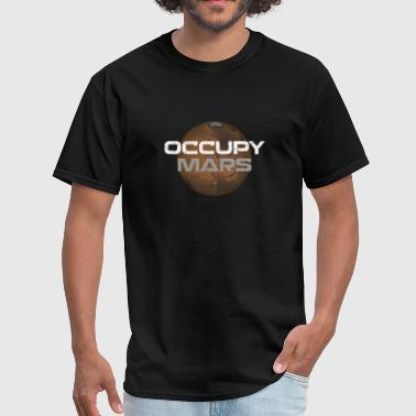 Occupy occupy mars - Men's T-Shirt