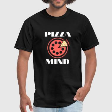 Pizza mind Peace of mind pun - Men's T-Shirt