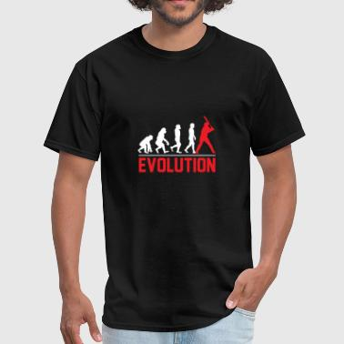 He Has Balls evolution baseball gift sport batter team hit ball - Men's T-Shirt