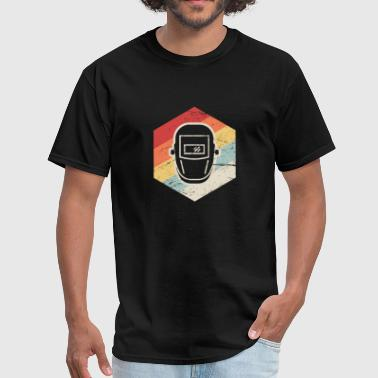 Iconic 70s Retro 70s Welder Icon - Men's T-Shirt