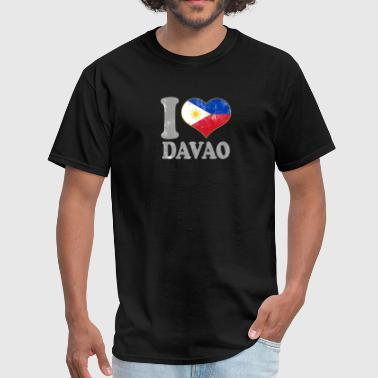 I Love Filipino Girls I Love Davao Philippines Filipino Flag Pride - Men's T-Shirt