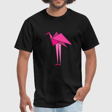 One Sided Love Flamingo Polygon Stunning Gift for Women idea - Men's T-Shirt