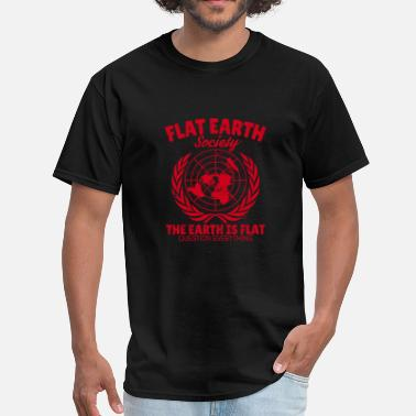 Flat Rate Flat Earth - Men's T-Shirt