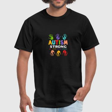 Autism Strong Love Support Gift Amazing Cool Nice - Men's T-Shirt