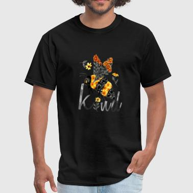 bee kind floral bee limited edition girlfriend - Men's T-Shirt