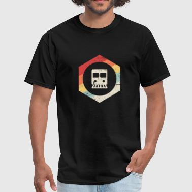 Retro Crew Retro Vintage Rail Crew Railroad Train Conductor - Men's T-Shirt