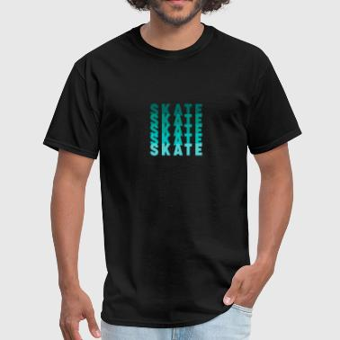 Skate-designs Skate - Skateboard - D3 Designs - Men's T-Shirt