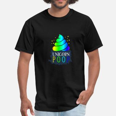 Unicorn Pooping Rainbows Unicorn Poop - Men's T-Shirt