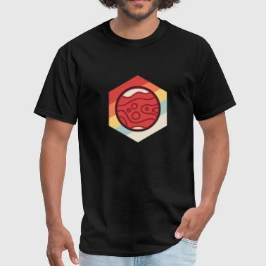 Retro Vintage Planet Mars - Men's T-Shirt