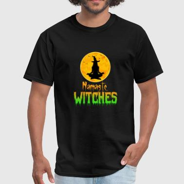 Namaste Wichtes - Yoga Halloween Shirt - Men's T-Shirt