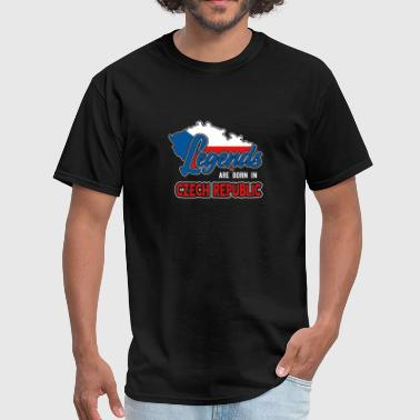 Home Czech Republic Czech flag - Men's T-Shirt