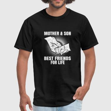 Mother And Son Best Friends For Life mother and son best friends for life baby hands - Men's T-Shirt