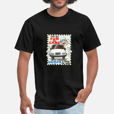 Christmas Post Office Post Offices Tray DPS Delivery Post Man Truck Gift - Men's T-Shirt
