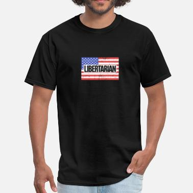 Capitalist Funny United States Election Libertarian Party - Men's T-Shirt
