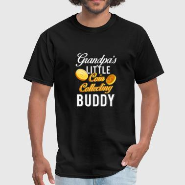 Red Buddy Grandpas Little Coin Collecting Buddy TShirt - Men's T-Shirt