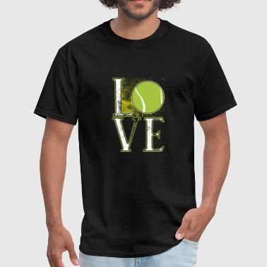 Tennis Love Love Tennis - Men's T-Shirt