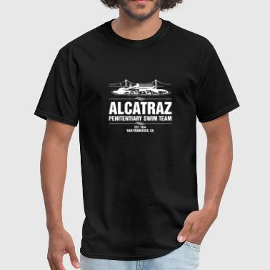 Alcatraz Penitentiary Swim Team T-Shirt Jail - Men's T-Shirt