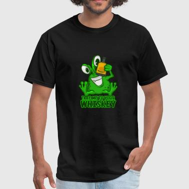Take Me To Your Whiskey T-Shirt Funny Space Green - Men's T-Shirt