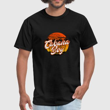 Cabana Boy T-Shirt Retro Classic Pool Boy Palm - Men's T-Shirt