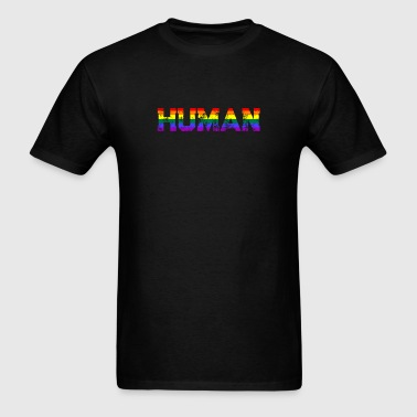 We are all Human LGBT Gay Pride Lesbian CSD Queer - Men's T-Shirt