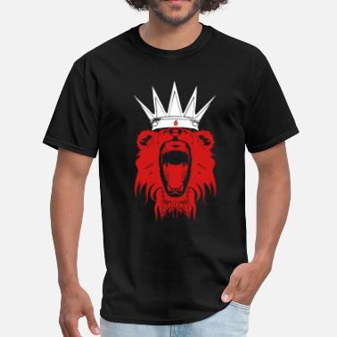 Basketball King Crown King Lebron James  - Men's T-Shirt