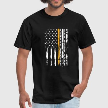 Thin Blue Line Shirt - Men's T-Shirt