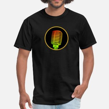 Microphone Vintage Microphone - Men's T-Shirt