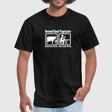 Second Hand Vegetarier - Men's T-Shirt