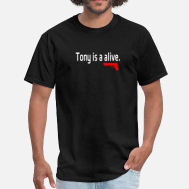 Sopranos Tony is alive Sopranos - Men's T-Shirt