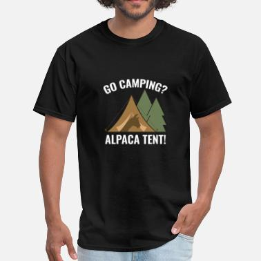 Tent Alpaca Tent - Men's T-Shirt
