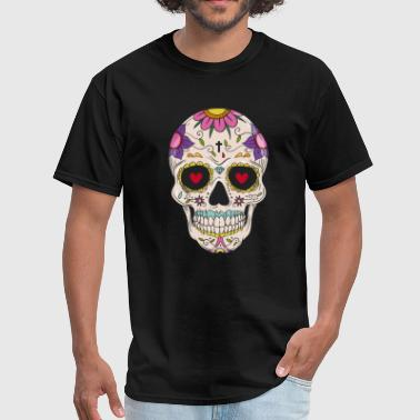 Sugar Skull - Day of the - Men's T-Shirt