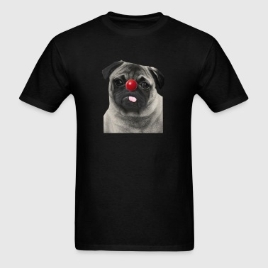 Red Nose Day Pug - Men's T-Shirt