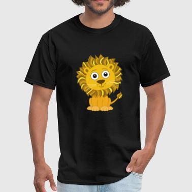 Kids Lion Lion cute for Kids and Baby - Men's T-Shirt