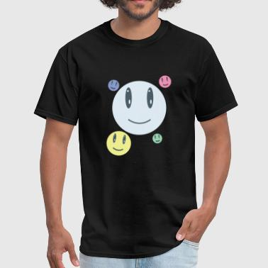 Back Smiley Face Smiley Faces - Men's T-Shirt