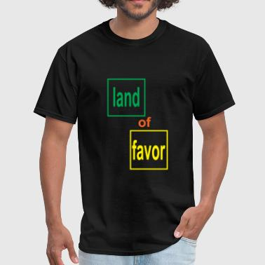 Favorable land of favor - Men's T-Shirt