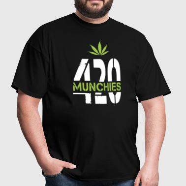 420 Munchies Weed leaf - Men's T-Shirt