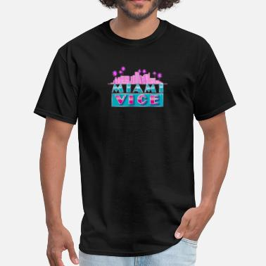 Miami Vice Miami Vice Crockett Tubbs Classic - Men's T-Shirt