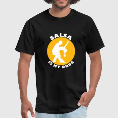 Salsa - funny salsa , salsa dancer t, salsa - Men's T-Shirt