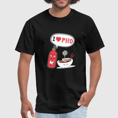 Pho - i love pho - Men's T-Shirt
