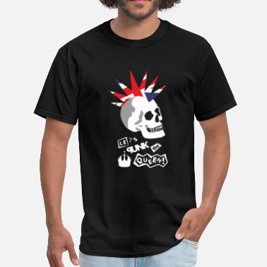 Lets Punk The Queen - Men's T-Shirt