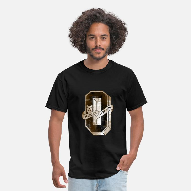 Asap Rocky T-Shirts - octobers very own vintage  - Men's T-Shirt black