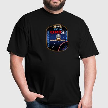 ORB-3 NASA Social - Men's T-Shirt