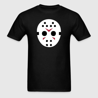 Hockey Mask (Cartoon) - Men's T-Shirt