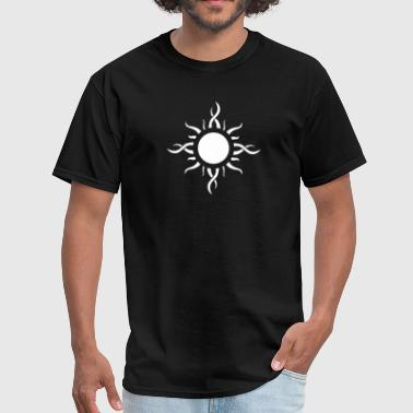 Tribal Sun Tattoo - Men's T-Shirt