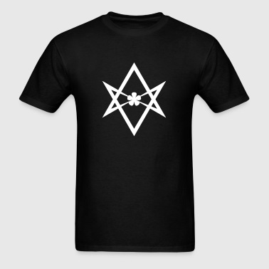 Aleister Crowley Unicursal Hexagram - Men's T-Shirt