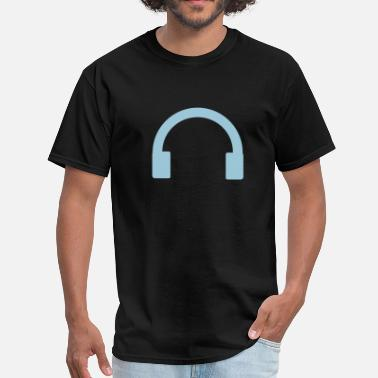 Plug Dj headphones DJ - Men's T-Shirt