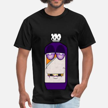 Trill Cartoon codeine cartoon - Men's T-Shirt