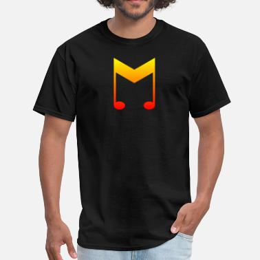 Rockabilly Symbols music symbol color 2 - Men's T-Shirt